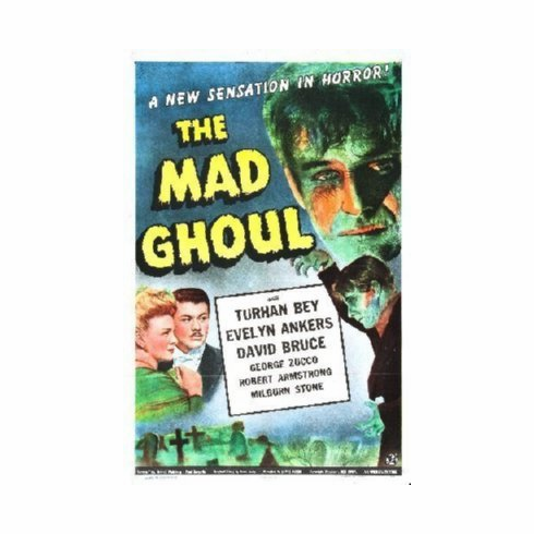 Mad Ghoul Mini Movie Poster 11x17