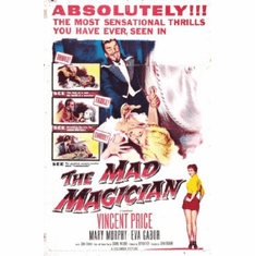 Mad Magician Movie Poster 24inx36in