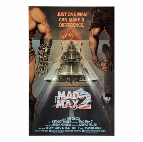 Mad Max 2 Movie Poster 24inx36in