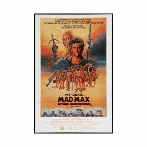 Mad Max Beyond Thunderdome Mini Poster #01 11inx17in Mini Poster