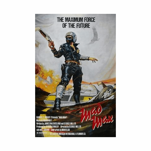 Mad Max Movie Poster 24in x36 in