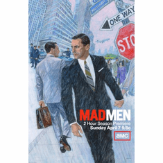 Mad Men Poster 24inx36in Poster