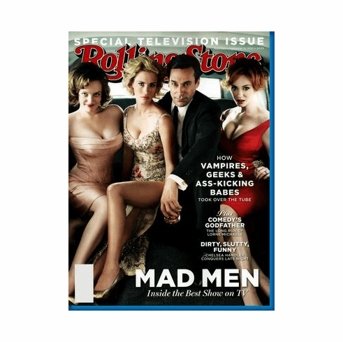 Mad Men Rolling Stone Cover Poster 24x36