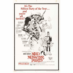 Mad Monster Party Movie Poster 24x36 #01