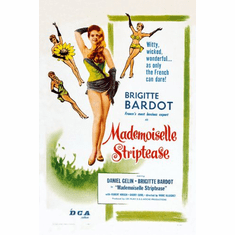 Mademoiselle Striptease Movie Poster 24in x36in