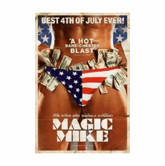 Magic Mike Movie Mini poster 11inx17in stars and stripes thong