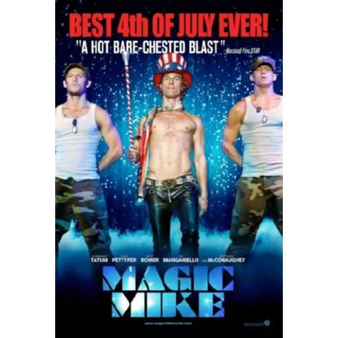 Magic Mike Movie Poster 24inx36in