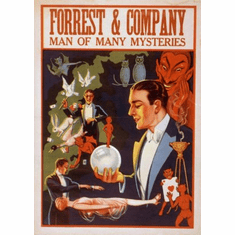 Magic Mini Poster 11x17in Forrest & Company