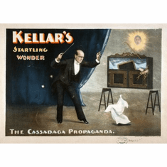 Magic Mini Poster 11x17in Kellar'S Startling Wonder