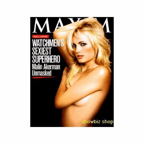 Malin Akerman Maxim Poster 24inx36in
