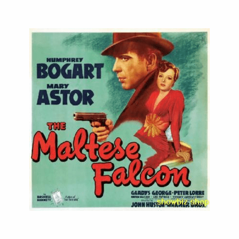 Maltese Falcon Movie Poster Art 24inx36in