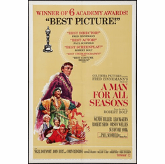 Man For All Seasons Movie Poster 24x36