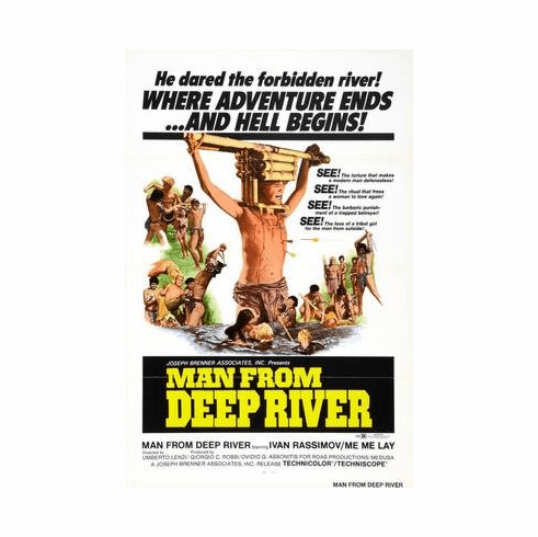 Man From Deep River Movie Poster 11x17 Mini Poster