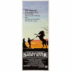Man From Snowy River The 14inx36in Insert Movie Poster