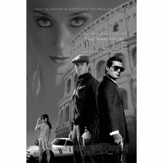 """Man From Uncle Black and White Poster 24""""x36"""""""