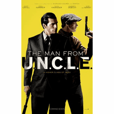 Man From Uncle Movie Poster 24in x36in