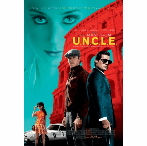 Man From Uncle Poster 24in x36in