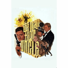 Man From Uncle Poster 24inx36in
