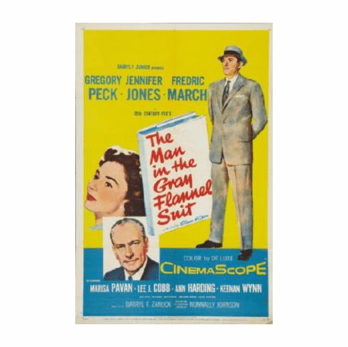 Man In The Gray Flannel Suit Movie Poster 24inx36in