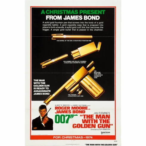 Man With The Golden Gun Movie Poster 24inx36in