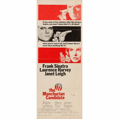 Manchurian Candidate The 14inx36in Insert Movie Poster