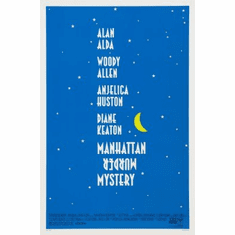 Manhattan Murder Mystery Movie Poster 24x36 #01