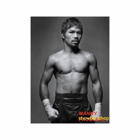 Manny Pacquiao Poster Fighter 24inx36in