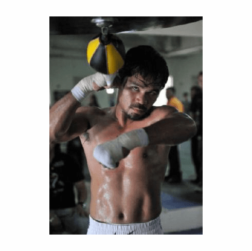 Manny Pacquiao Poster Speedbag 24inx36in