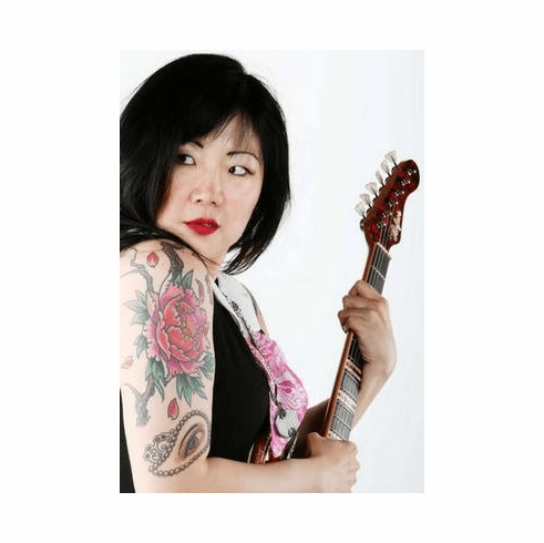 Margaret Cho Poster Tattoos Guitar 24in x36 in