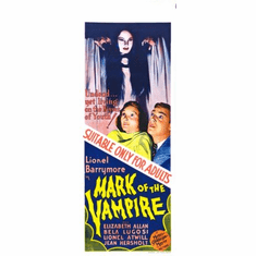 Mark Of The Vampire Movie Poster Insert 14x36 #01