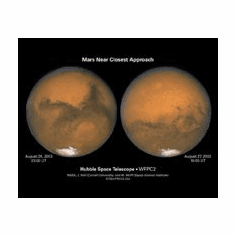 Mars Closest Encounter 8x10 photo