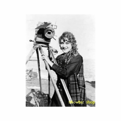 Mary Pickford Poster Camera 24inx36in