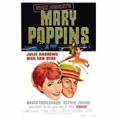 Mary Poppins Movie Poster 24inx36in