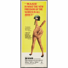 Mash Movie Poster Insert 14x36 #01