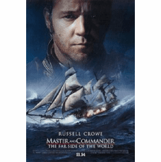 Master And Commander Movie Poster 24inx36in