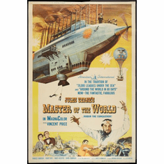 Master Of The World Movie Poster 24inx36in
