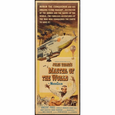 Master Of The World Movie Poster Insert 14x36 #01