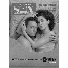 "Masters Of Sex Black and White Poster 24""x36"""