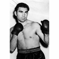 """Max Schmeling Black and White Poster 24""""x36"""""""