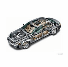 Maybach Cutaway 8x10 photo
