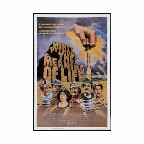 Meaning Of Life Poster 24inx36in