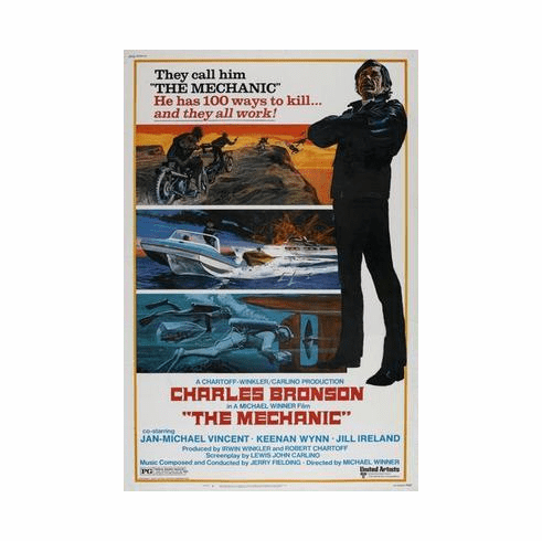 Mechanic The Movie Poster 24in x36 in