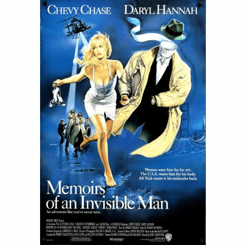 Memoirs Of An Invisible Man Movie Poster 24inx36in Poster