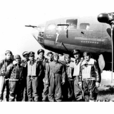 """Memphis Belle Crew Black and White Poster 24""""x36"""""""