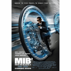 Men In Black 3 Movie Poster 24inx36in