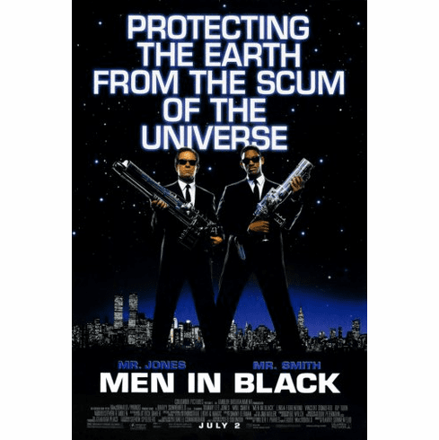 Men In Black Movie Poster 24inx36in
