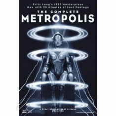 Metropolis Movie Poster 24in x36 in