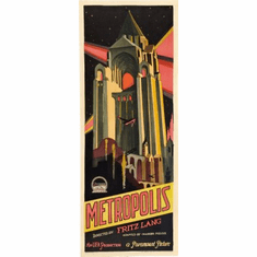 Metropolis Movie Poster Insert 14x36 #01