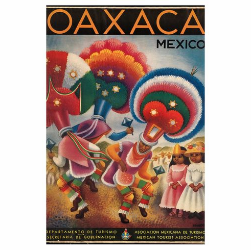 Mexico Tourism Poster 24in x36in