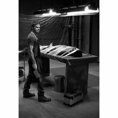 """Michael C Hall Black and White Poster 24""""x36"""""""